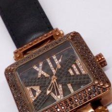Relojes: BOLÍGRAFO BIJOU PARIS PIEDRAS DE SWAROVSKI RELÓ DE GRAN CALIDAD. Lote 160619813