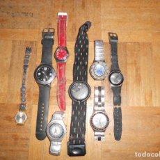 Relojes: LOTE RELOJES SWATCH DESCONOZCO SU ESTADO. Lote 157339154