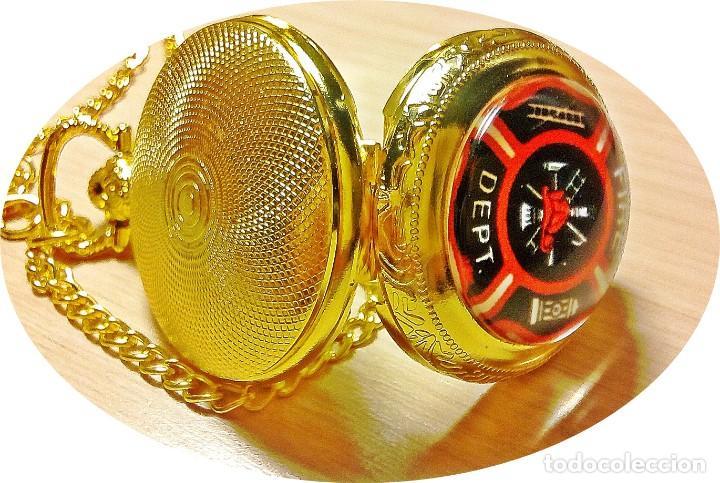 Relojes: RELOJ TEMATICO CUERPO BOMBEROS. - Foto 2 - 162256796