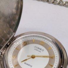 Relojes: RELOJ DE BOLSILLO JUMBO COLECTION QUARTZ NUEVO. Lote 165286854