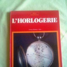 Relojes: L'HORLOGERIE.. Lote 157882150