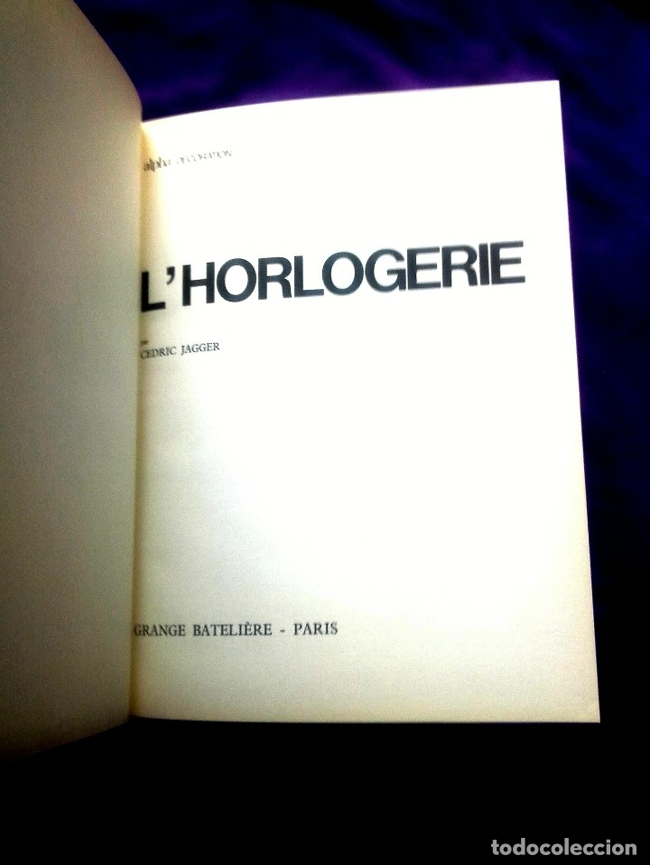 Relojes: L'HORLOGERIE. - Foto 2 - 157882150