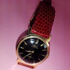 Relojes: RELOJ-ORIS ANTI.SHOCK-SUIZO-ORIGINAL-34 MM.TOTAL-CORREA PIEL-FUNCIONANDO-BUEN ESTADO-VER FOTOS. Lote 158239246