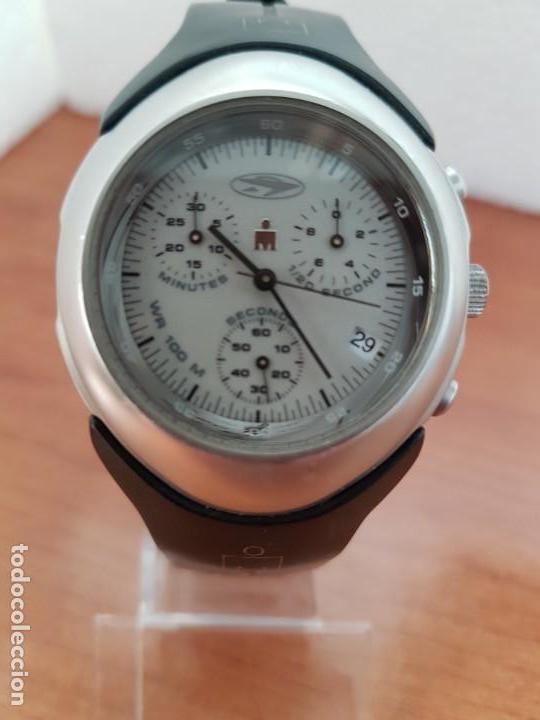8dbfe72696b0 Relojes  Reloj caballero TIMEX IRONMAN cronografo acero