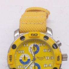 Relojes: RELOJ SELECT QUARTZ. Lote 158420606