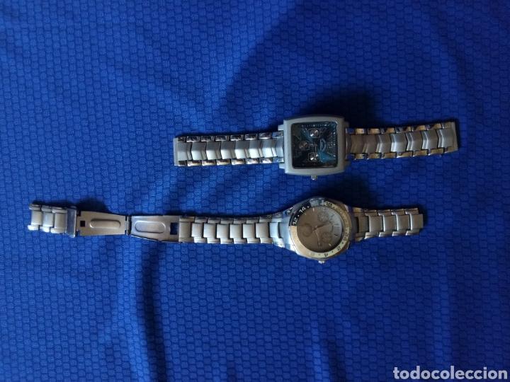 Relojes: LOTE 2 RELOJES LOUIS VALENTIN CUARZO - Foto 4 - 158518312