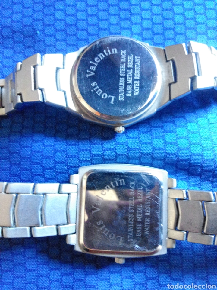 Relojes: LOTE 2 RELOJES LOUIS VALENTIN CUARZO - Foto 5 - 158518312