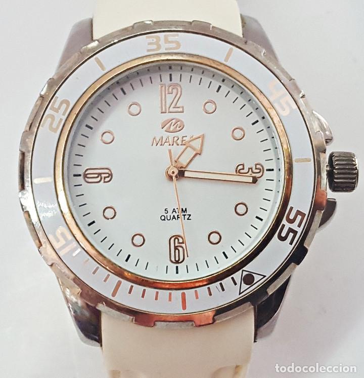Relojes: RELOJ MARCA MAREA BLANCO - Foto 2 - 158603866