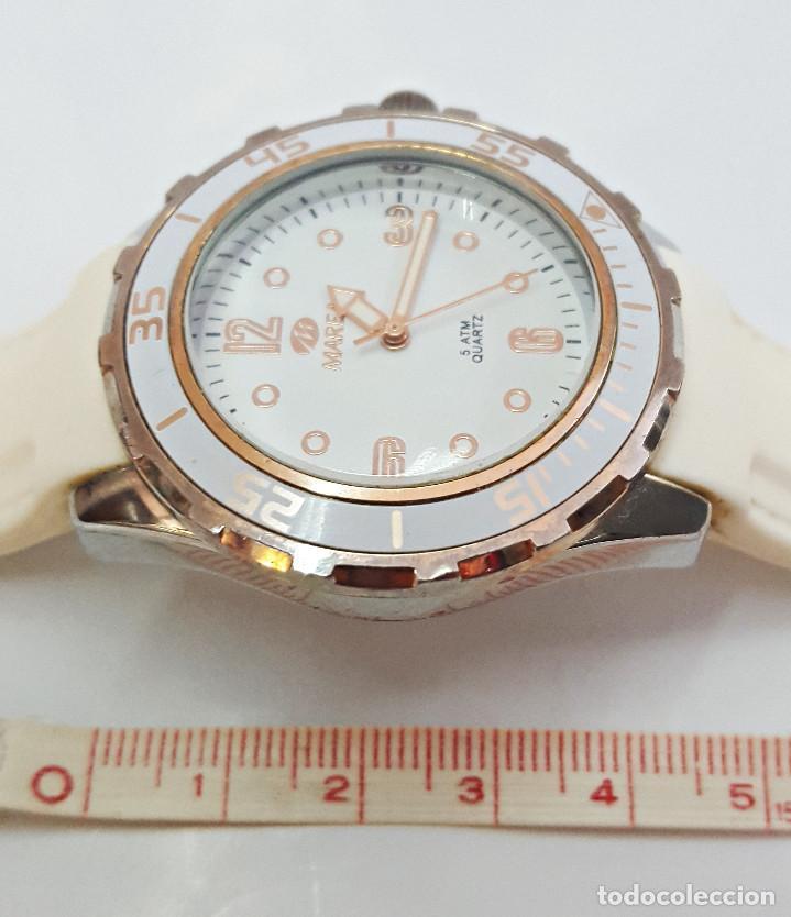 Relojes: RELOJ MARCA MAREA BLANCO - Foto 4 - 158603866