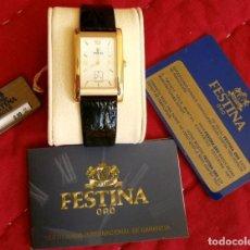 Relojes: RELOJ DE ORO - GAMA ALTA (NUEVO) ORIGINAL 18 KTS - DE PULSERA AUTOMÁTICO - CUARZO SUIZO -VER FOTOS. Lote 159066934