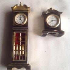 Relojes: RELOJES MINIATURAS. Lote 159286190