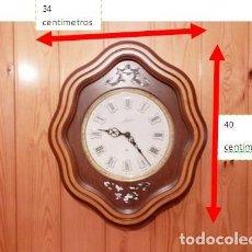 Relojes: RELOJ DE PARED JUNGHANS. VER TODAS LAS FOTOS. Lote 180290381