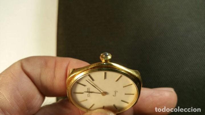 Relojes: RELOJ DUWARD QUARZ CHAPADO EN ORO FORMA EXAGONAL - Foto 2 - 159791282