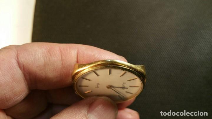 Relojes: RELOJ DUWARD QUARZ CHAPADO EN ORO FORMA EXAGONAL - Foto 3 - 159791282
