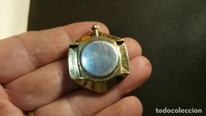 Relojes: RELOJ DUWARD QUARZ CHAPADO EN ORO FORMA EXAGONAL - Foto 4 - 159791282