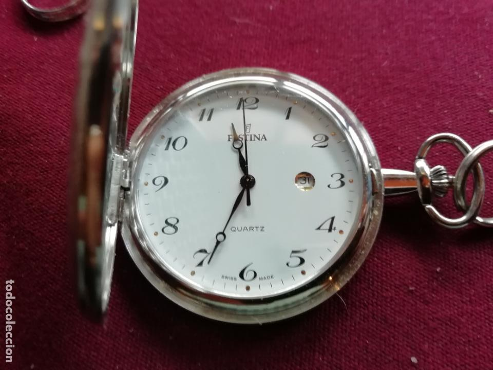 Relojes: Reloj de bolsillo Festina Quartz. Calendario - Foto 2 - 159796910