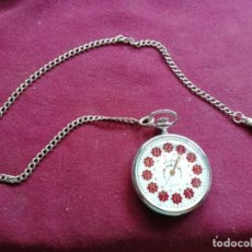 Relojes: RELOJ DE BOLSILLO SUIZO JUSTINA QUARTZ. Lote 159797046