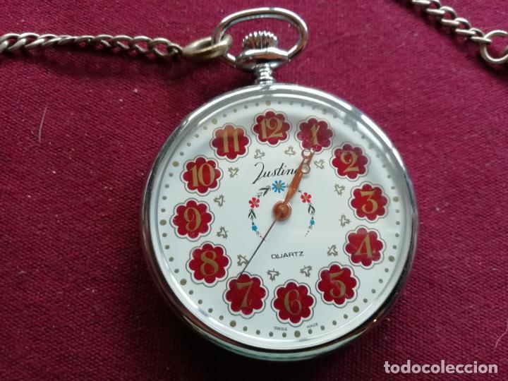 Relojes: Reloj de bolsillo suizo Justina Quartz - Foto 2 - 159797046