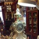 Relojes: RELOJ BRONCE SOBREMESA. Lote 160855910