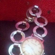Relojes: RELOJ DE PULSERA CRISTAL WATCH - 17 JEWELS INCABLOC .... *NO FUNCIONA*. Lote 161570074