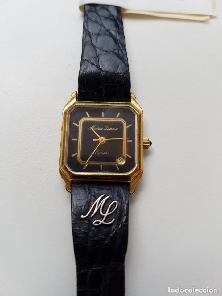 MAURICE LACROIX - QUARTZ - SEÑORA . (Relojes - Relojes Actuales - Otros)