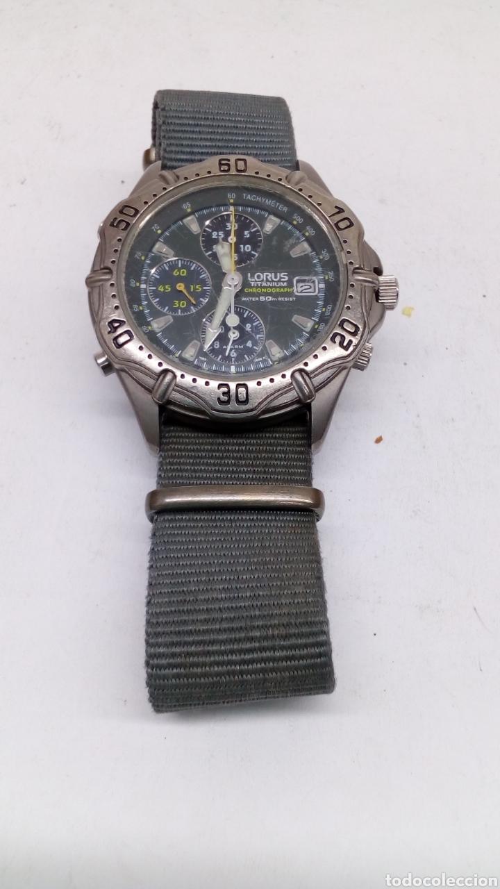 precio baratas diseño de moda estilo de moda Reloj Lorus Titanium Chronograph