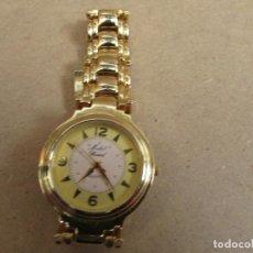 Relojes: RELOJ DE SEÑORA DORADO - MICHEL ROCARD VER FOTOS . Lote 162373414