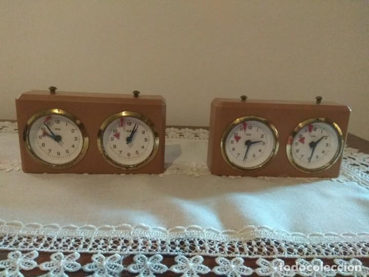 2 RELOJ DE AJEDREZ BHB Y RECAMBIOS (Relojes - Relojes Actuales - Otros)