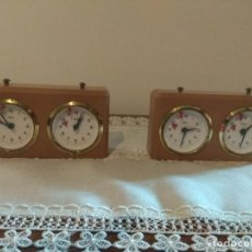 Relojes: 2 RELOJ DE AJEDREZ BHB Y RECAMBIOS. Lote 162777958