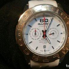 Relojes: RELOJ BULTACO HERITAGE CRONOGRAFO QUARTZ POLYCARBONATE, CON ESTUCHE - FONDO DE TIENDA. Lote 163076262