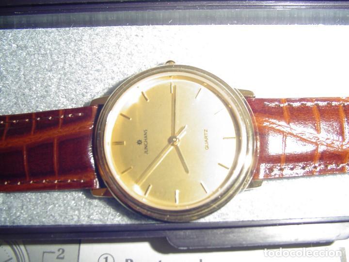 Relojes: Reloj Junghans Quartz.Nuevo - Foto 2 - 163408890