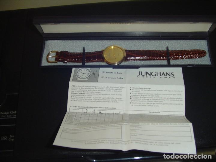 Relojes: Reloj Junghans Quartz.Nuevo - Foto 3 - 163408890