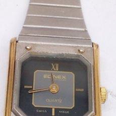 Relojes: RELOJ EDINEX QUARTZ MAQUINARIA SWISS MADE. Lote 164107113