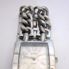 Relojes: RELOJ DE PULSERA MUJER G.W.G. QUARTZ WATER RESISTANT STAINLESS STEEL BACK . Lote 164694942