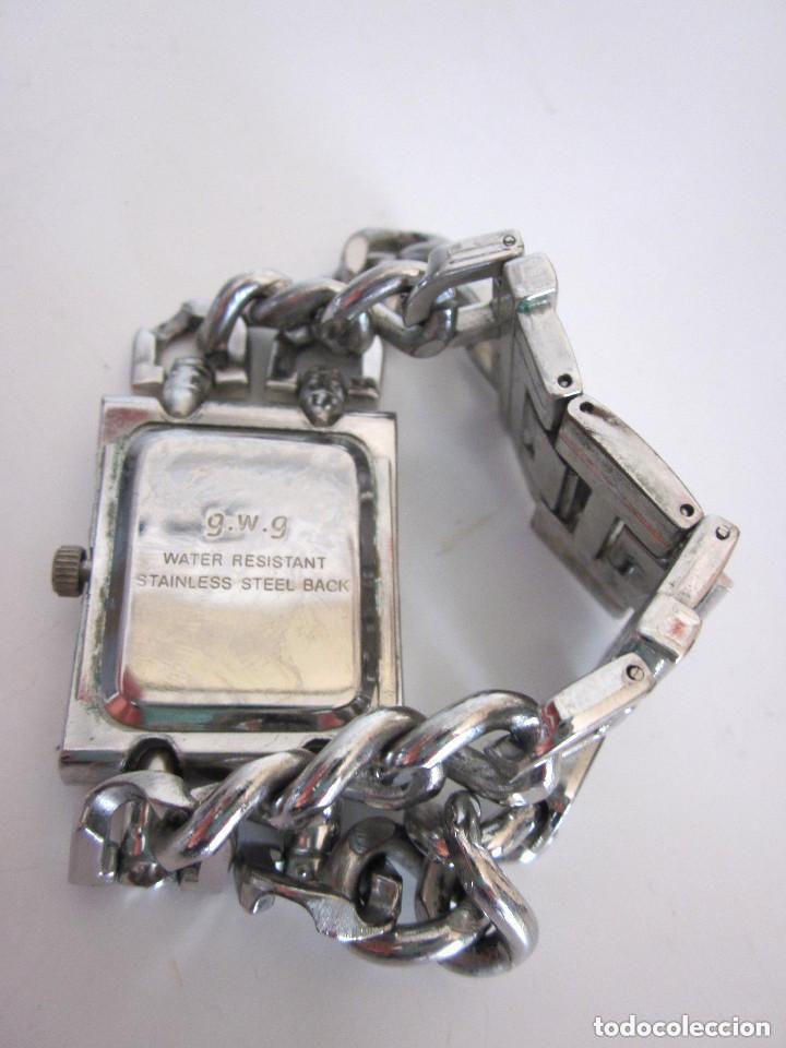 Relojes: Reloj de pulsera mujer g.w.g. Quartz Water Resistant Stainless Steel Back - Foto 3 - 164694942