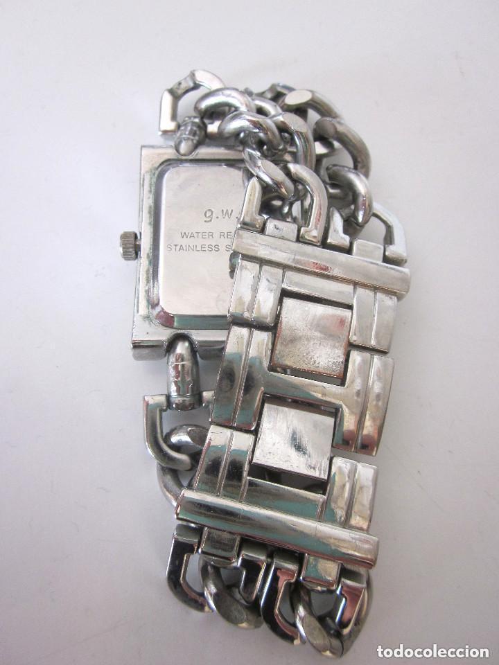 Relojes: Reloj de pulsera mujer g.w.g. Quartz Water Resistant Stainless Steel Back - Foto 6 - 164694942