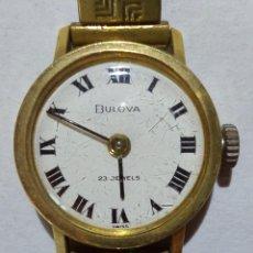Orologi: BULOVA. ESFERA 19 MMS. CORREA ROTA. FUNCIONA.. Lote 164744438
