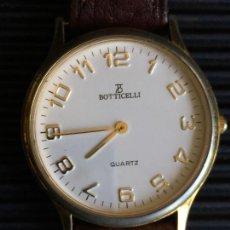 Relojes: RELOJ DE CUARZO, DE LA MARCA BOTTICELLI, CON CORREA DE CUERO MARRON. Lote 165493170