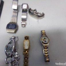 Relojes: LOTE DE 6 RELOJES. Lote 165666086