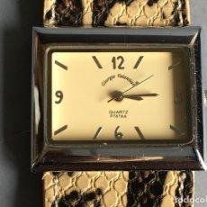 Relojes: RELOJ DE CUARZO DE LA MARCA GIORGIE VALENTIAN, CON CORREA DE CUERO. Lote 165993286