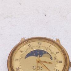 Relojes: RELOJ ALFEX QUARTZ FASE LUNAR PARA PIEZAS. Lote 166603138