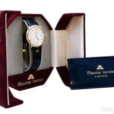 Relojes: RELOJ DE PULSERA MAURICE LACROIX. IMPRESIONANTE. PARA MUJER.. Lote 167337916