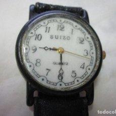 Relojes: MARCA SUIZO RELOJ JAPON CUARTZ SIN FUNCION A BATERIA Y RELOJ LEVACO. Lote 167523032