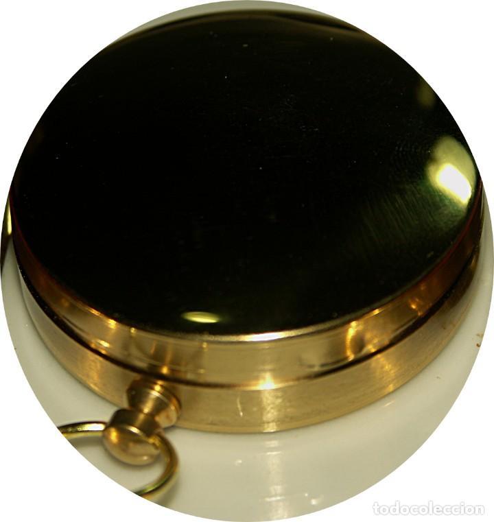 Relojes: Brujula formato reloj bolsillo de Precision bañada en aceite. - Foto 3 - 217658900