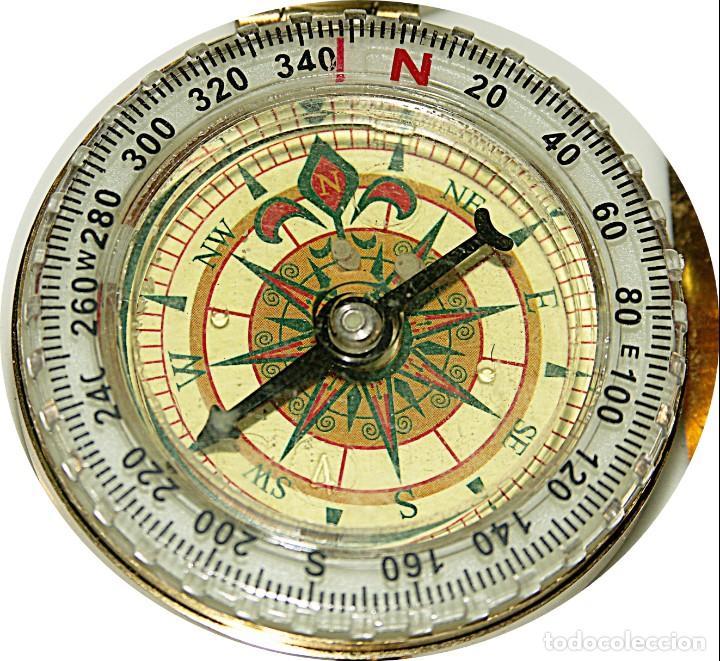 Relojes: Brujula formato reloj bolsillo de Precision bañada en aceite. - Foto 4 - 217658900