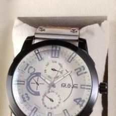 Relojes: RELOJ CABALLERO CUARZO PIEL. Lote 168027236