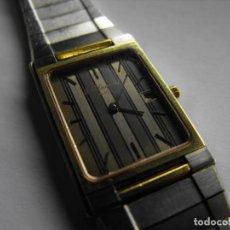 Relojes: ELEGANTE RELOJ S.T. DUPONT DE ACERO Y ORO SÓLIDO. FUNCIONA. Lote 168455942