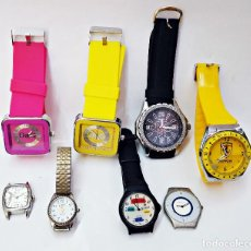 Relojes: LOTE DE 8 RELOJES SURTIDOS.. Lote 168745496