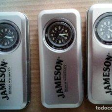 Relojes: LOTE DE 3 RELOJES DE PUBLICIDAD DEL WHISKY JAMESON. Lote 168785748