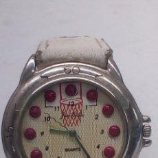Relojes: RELOJ FRAN BELIBE QUARTZ ESFERA BALONCESTO. Lote 169289069